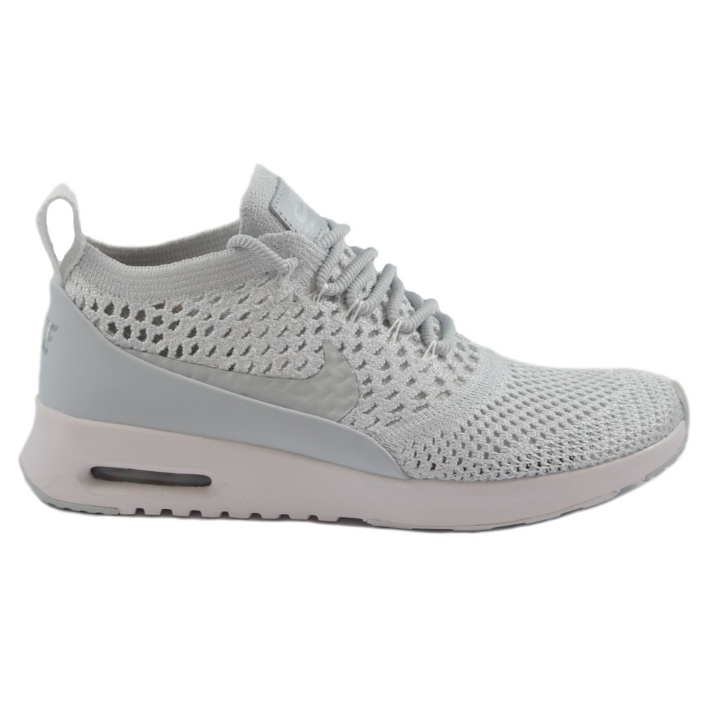 Nike Wmns Air Max Thea Ultra Flyknit (Pure Platinum Pure Platinum White)