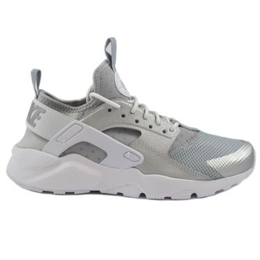 Nike Damen Sneaker Air Huarache Run Ultra Metallic Silver