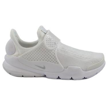 Nike Damen Sneaker Sock Dart White/Pure Platinum