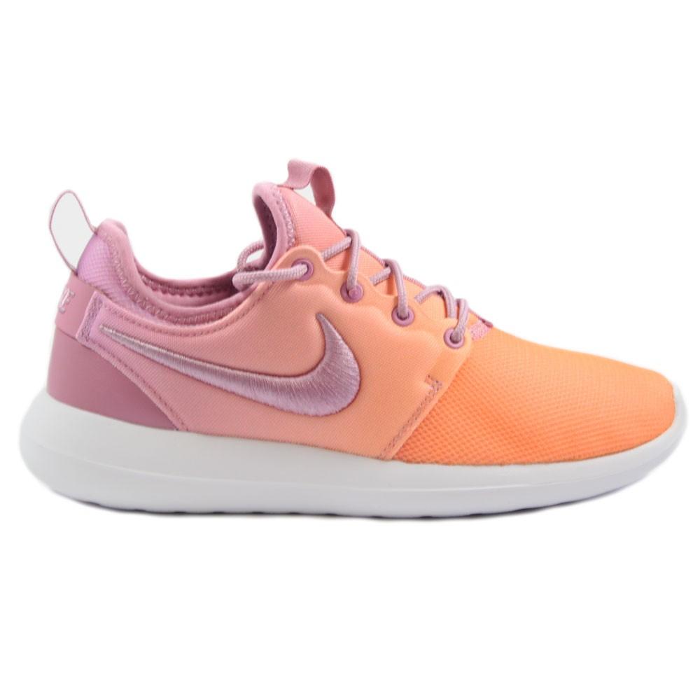 Nike Damen Sneaker Roshe Two BR orangelila