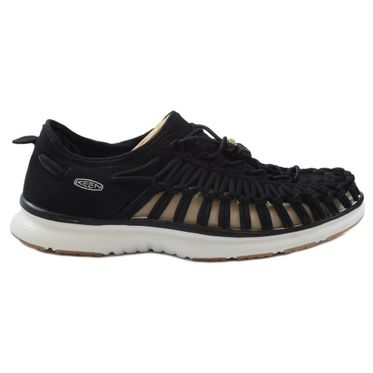 KEEN Damen Sneaker-Sandale Uneek 02 Black/Harvest Gold 1017055