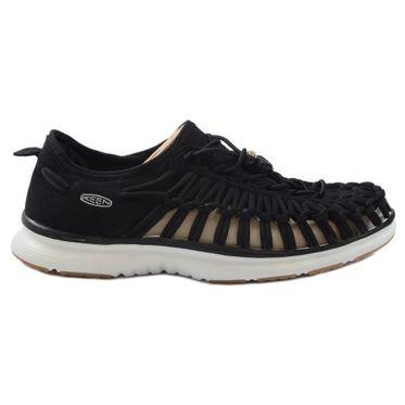 KEEN Damen Sneaker-Sandale Uneek 02 Black/Harvest Gold 1017055
