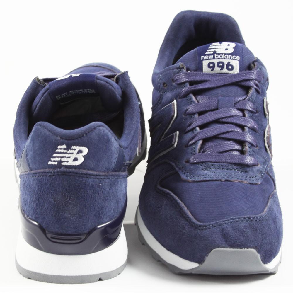 New Balance Damen Sneaker WR996HT Navy/Silver