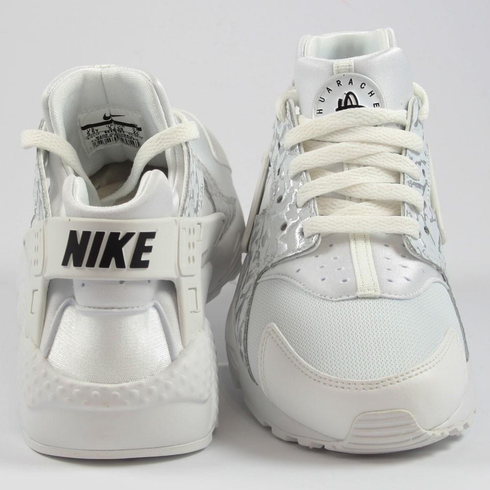 timeless design 1c64b bb582 ... Preview 3 Nike Damen Sneaker Air Huarache Run SE Summt White Metallic  Silver ...