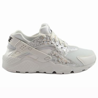 Nike Damen Sneaker Air Huarache Run SE Summt White/Metallic Silver
