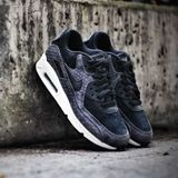 Preview 5 Nike Damen Sneaker Air Max 90 PREM Black/Black-Sail-Dark Grey