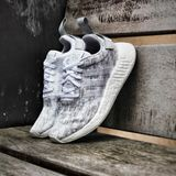 Preview 5 Adidas Damen Sneaker NMD_R2 FtwWht/FtwWht/GreTwo BY8691