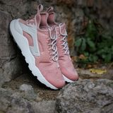 Preview 5 Nike WMNS Damen Sneaker Air Huarache Run Ultra Particle Pink/Light Bone