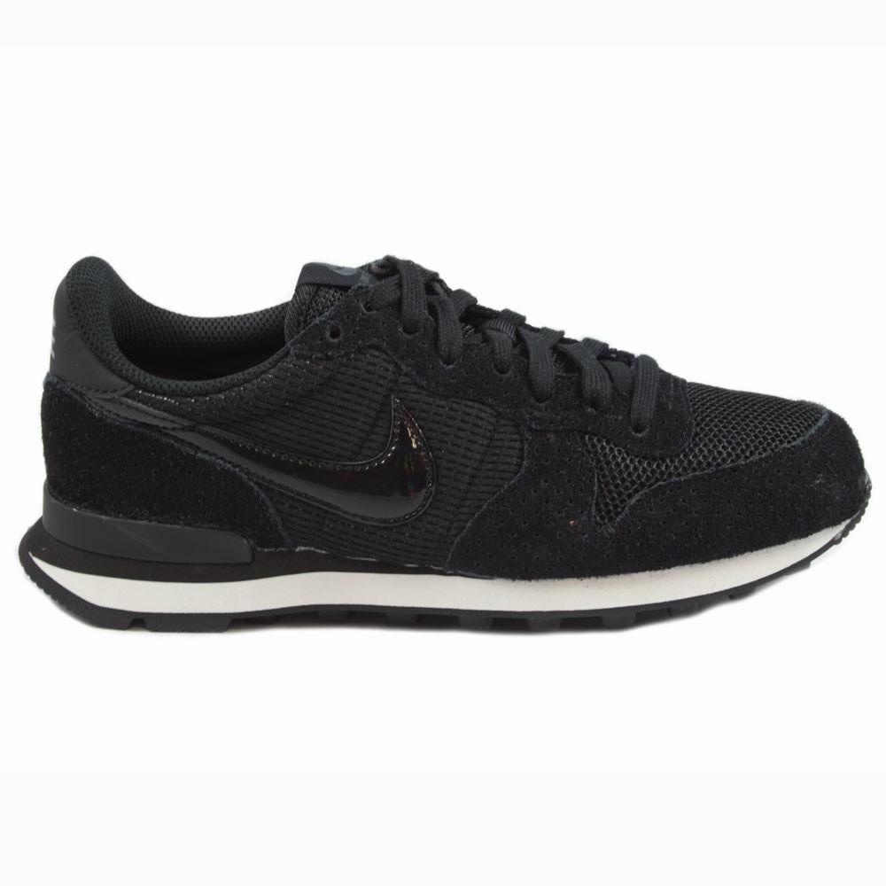 Nike WMNS Damen Sneaker Internationalist Black/Black-Dark Grey