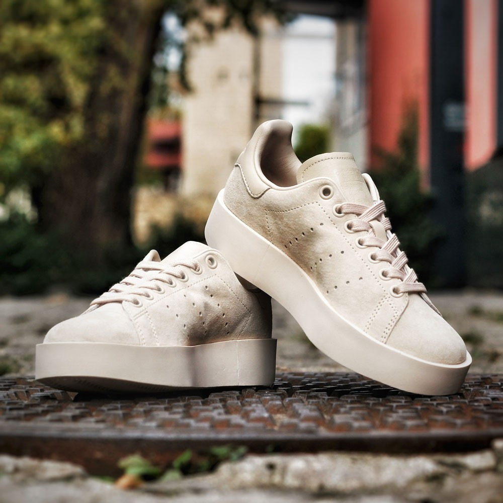 New Products CG, adidas Schuhe – Stan Smith Bold W beige