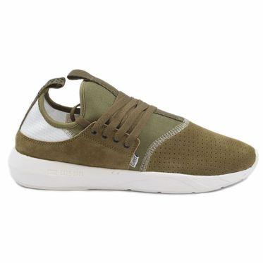 Djinns Herren Sneaker MocLau 3.0 Perfo Olive