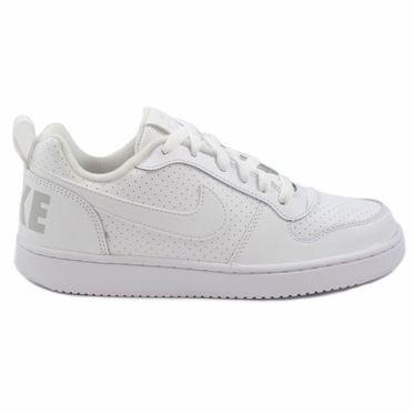 Nike Damen/Kinder Sneaker Court Borough Low White/White-White
