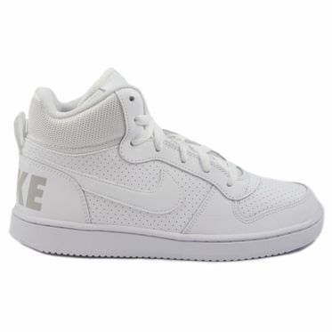 Nike Damen/Kinder Sneaker Court Borough Mid White/White-White
