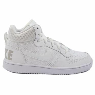 Nike Damen/Kinder Sneaker Court Borough Mid White/White-White