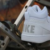 Preview 6 Nike Damen/Kinder Sneaker Court Borough Mid White/White-White