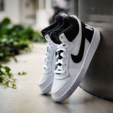 Preview 5 Nike Damen/Kinder Sneaker Court Borough Mid White/Black