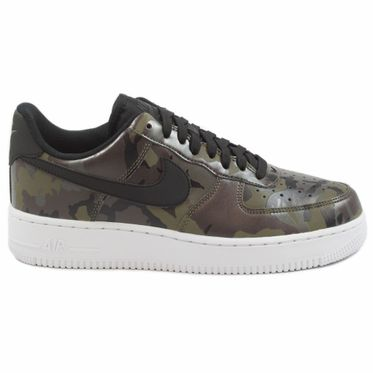 Nike Herren Sneaker Air Force 1 ´07 LV8 Medium Olive/Black