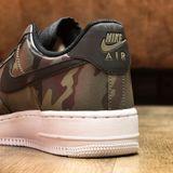 Preview 6 Nike Herren Sneaker Air Force 1 ´07 LV8 Medium Olive/Black