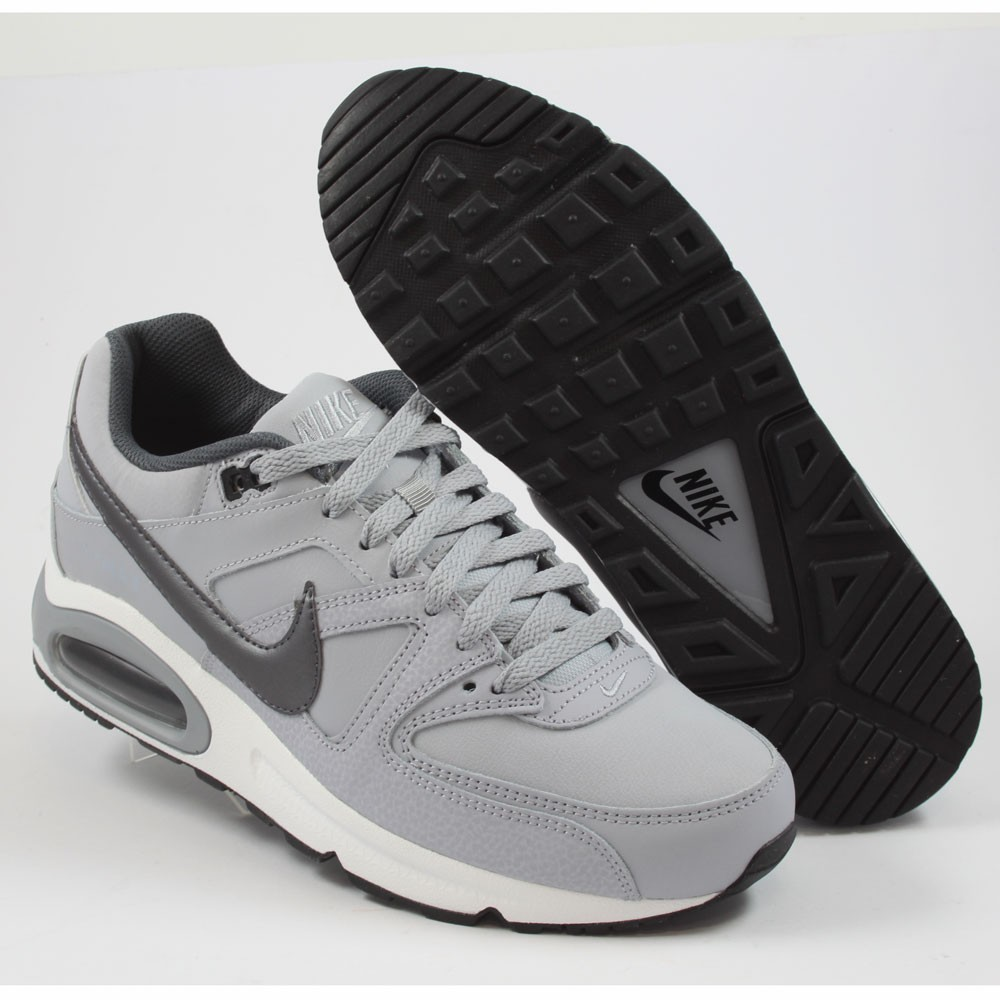 5dae59f016a50a ... Preview 2 Nike Herren Sneaker Air Max Command Leather Wolf Grey Mtlc  Dark Grey- ...