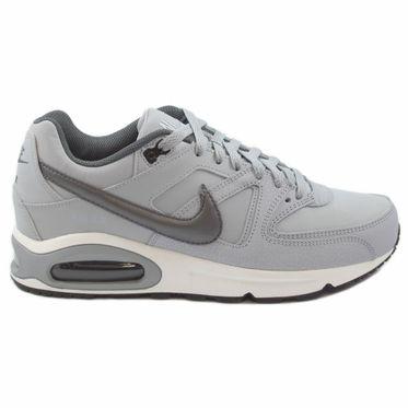 Nike Herren Sneaker Air Max Command Leather Wolf Grey/Mtlc Dark Grey-Black