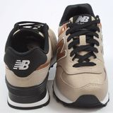 Preview 3 New Balance Damen Sneaker WL574SFF Copper/Cuivre-Beige/Kupfer