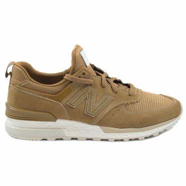 New Balance Herren Sneaker MS574FSB Camel