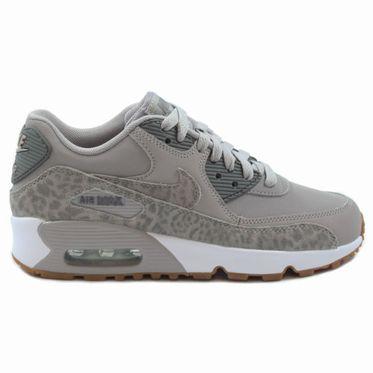 Nike Damen Sneaker Air Max 90 LTR SE Atmosphere Grey/Gunsmoke-White