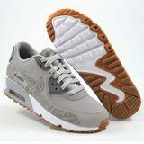 Preview 2 Nike Damen Sneaker Air Max 90 LTR SE Atmosphere Grey/Gunsmoke-White