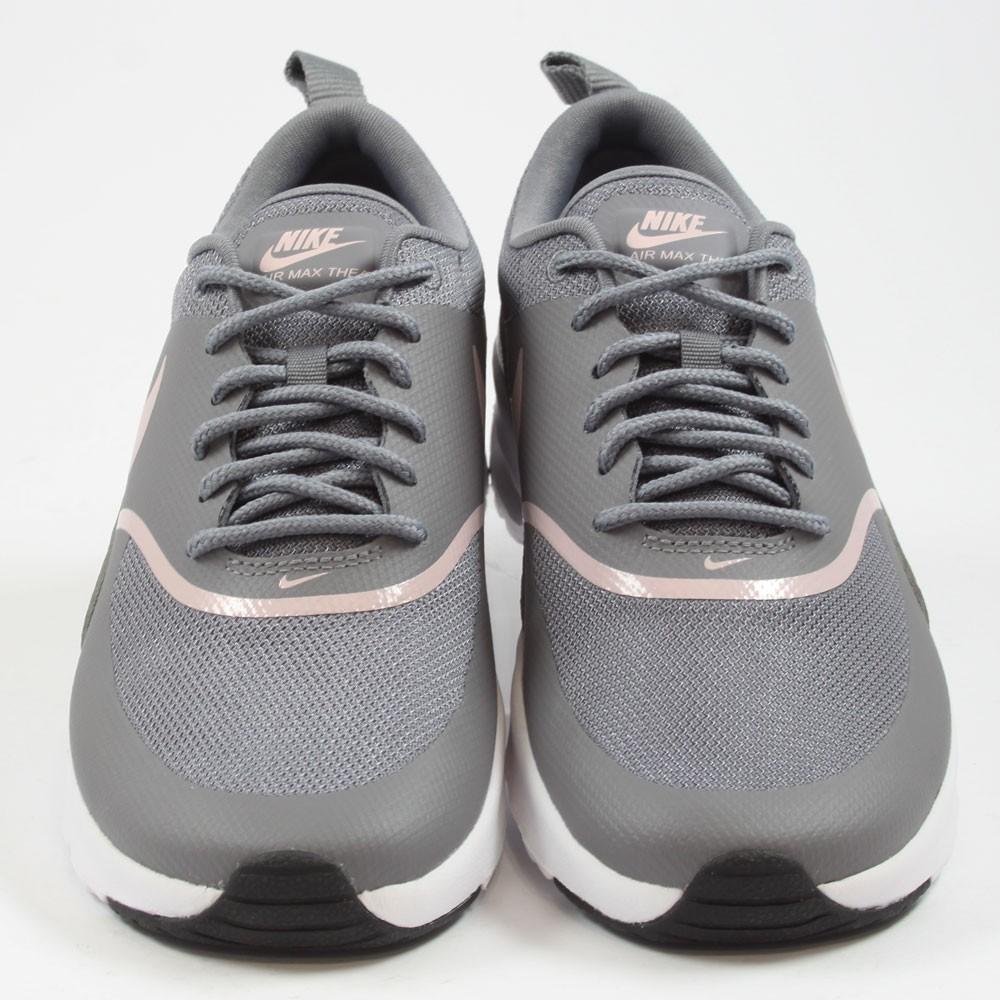 san francisco 0b3af bf9a2 ... Preview 4 Nike Damen Sneaker Air Max Thea Gunsmoke Particle Rose-Black