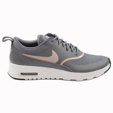 Nike Damen Sneaker Air Max Thea Gunsmoke/Particle Rose-Black