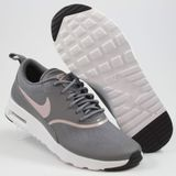 Preview 2 Nike Damen Sneaker Air Max Thea Gunsmoke/Particle Rose-Black