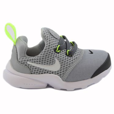 Nike Kinder Sneaker Presto Fly Wolf Grey/White-Black-Volt