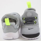 Preview 3 Nike Kinder Sneaker Presto Fly Wolf Grey/White-Black-Volt