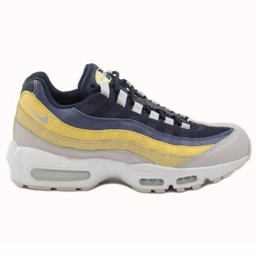 Nike Herren Sneaker Air Max 95 Essential White/Vast Grey-Lemon Wash