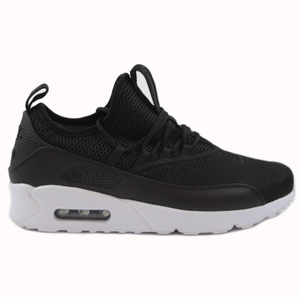 nike herren sneaker air max 90 ez black black white. Black Bedroom Furniture Sets. Home Design Ideas