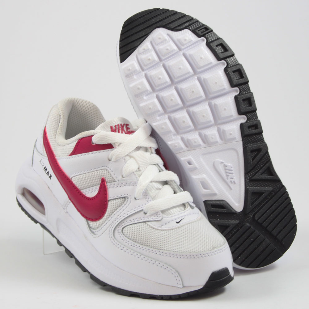 nike kinder sneaker air max command flex ps white sport. Black Bedroom Furniture Sets. Home Design Ideas