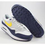 Preview 2 Nike Herren Sneaker Air Max 1 White/Tour Yellow-Blue Recall