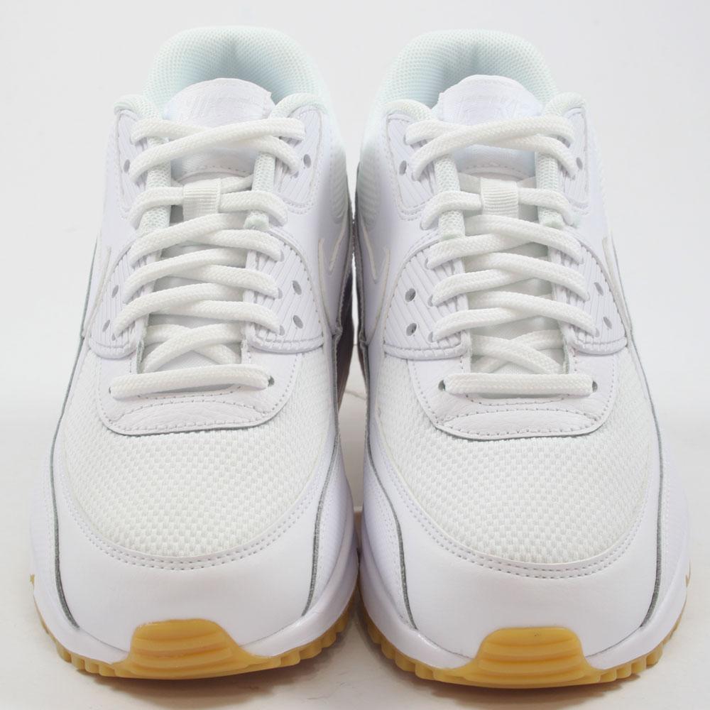 nike damen sneaker air max 90 white white gum light brown. Black Bedroom Furniture Sets. Home Design Ideas