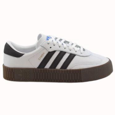 Adidas Damen Sneaker Sambarose FtwWht/CBlack/Gum5 AQ1134