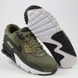 Preview 2 Nike Damen Sneaker Air Max 90 Mesh Medium Olive/Black-Sequoia