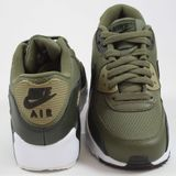 Preview 4 Nike Damen Sneaker Air Max 90 Mesh Medium Olive/Black-Sequoia