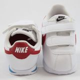 Preview 3 Nike Kinder Sneaker Cortez SL TDV White/Varsity Red