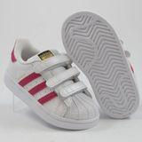 Preview 2 Adidas Kinder Sneaker Superstar CF1 FtwWht/BoPink/FtwWht BZ0420
