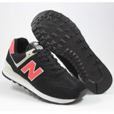 Preview 2 New Balance Herren Sneaker ML574SMP Black/Red