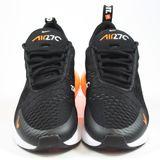 Preview 2 Nike Herren Sneaker Air Max 270 Black/White-Total Orange