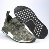 Preview 2 Adidas Herren Sneaker NMD_R1 Olive Green Camo D96617