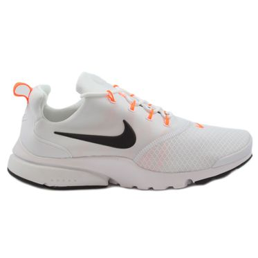 Nike Herren Sneaker Air Presto Fly JDI White/Black-Total Orange