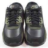 Preview 4 Nike Herren Sneaker Air Max 90 Leather Black/Medium Olive-Sequoia
