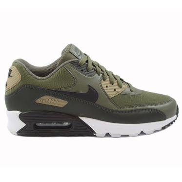 Nike Herren Sneaker Air Max 90 Essential Medium Olive/Black-Sequoia