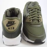 Preview 3 Nike Herren Sneaker Air Max 90 Essential Medium Olive/Black-Sequoia